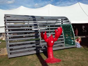 Giant lobster trap