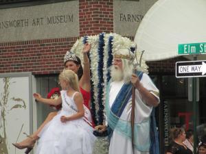 Lobster Festival Parade - Royal Court